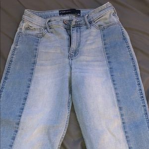 Hollister two toned highrise Jeans